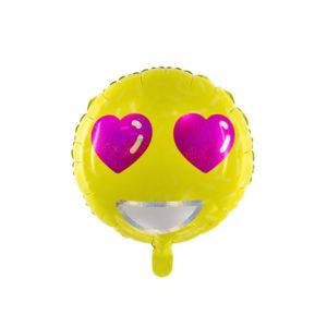 Emoji Ballong Hjerter