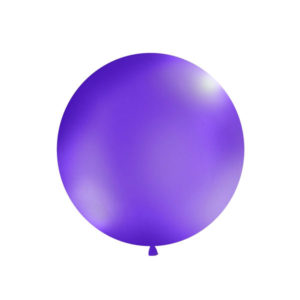 Gigantisk Rund Ballong Lavendel
