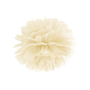 Pom Pom Krem 35 cm