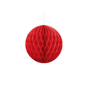 Honeycomb Rød 20 cm