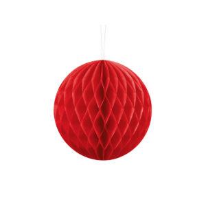 Honeycomb Rød 30 cm