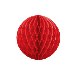 Honeycomb Rød 40 cm