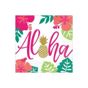 Servietter Aloha