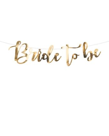 Bride to Be Banner Gull