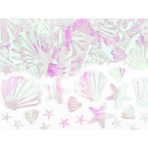 Iridescent undervanns konfetti