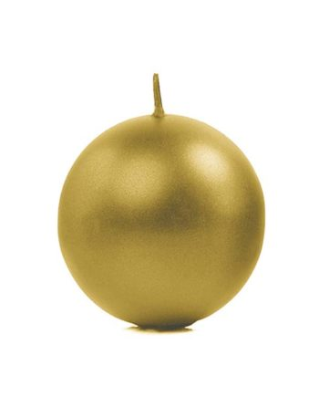 Kulelys Gull Metallic 8 cm