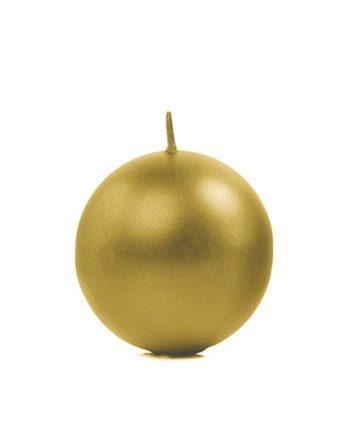 Kulelys Gull Metallic 6 cm