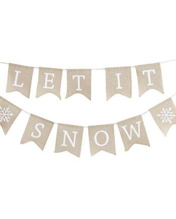 Let it Snow Vimpelrekke