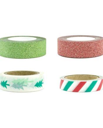 Washi Tape i julefarger