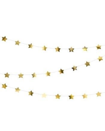 Stjernegirlander Gull