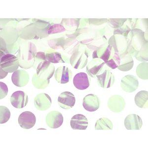 Iridescent konfetti