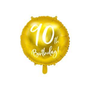 90th Birthday Folieballong
