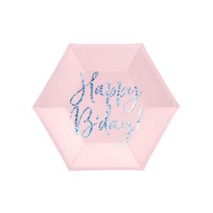 Tallerkener Happy Bday Rosa