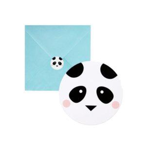 Bursdagsinvitasjoner Panda Bursdag