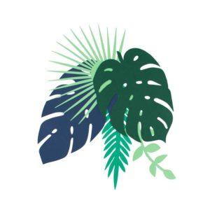 Dekorblader Tropical Leaves