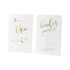 Brides Party Save the Date