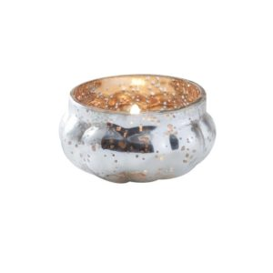 Telysholder Frosted Silver Gold