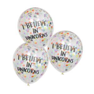 I Belive in Unicorns Ballonger