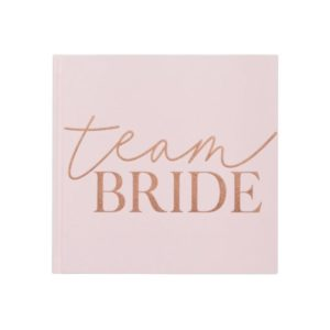 Gjestebok Team Bride Lux