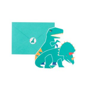 Bursdagsinvitasjoner Dinosaur