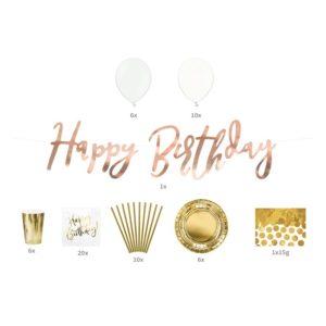Happy Birthday Party sett