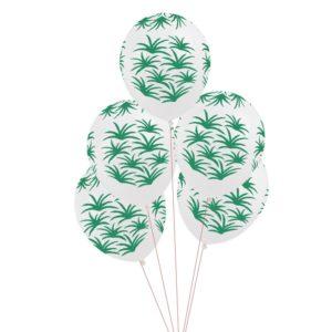 Ballonger med Palmeblad