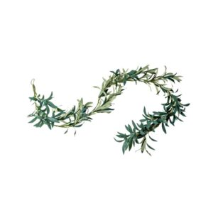 Kunstig Oliven bladranke