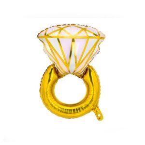 Folieballong Diamantring