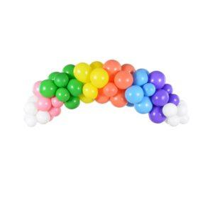 Ballongbue Regnbuefarger