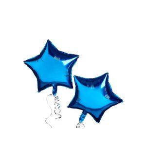 Stjerneballonger Blå 2 stk