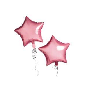Stjerneballonger Rosa