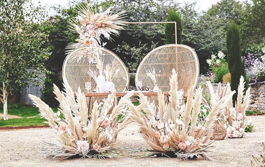 Pampas Wedding Honeyoak