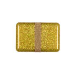 Matboks Gull Glitter